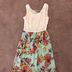 Summer flowy maxi dress